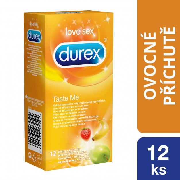 Kondomy Durex Taste Me 12 ks