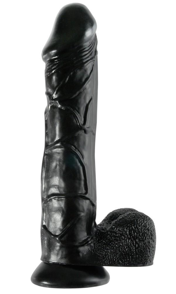 Pipedream Basix 12″ Mega Dildo Black