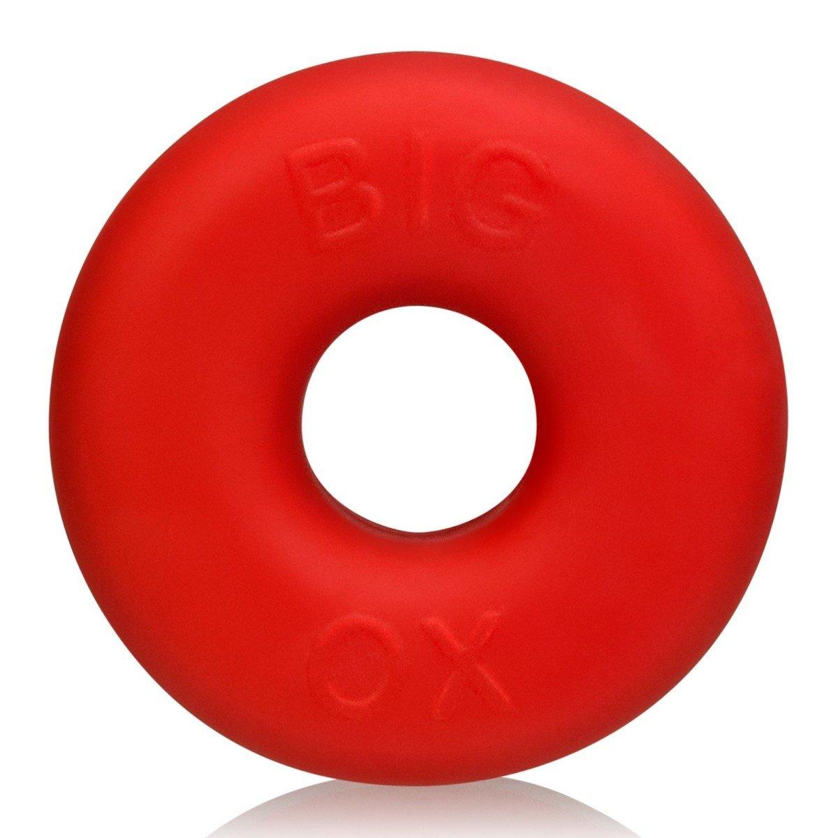 Velký erekční kroužek Oxballs Big Ox červený