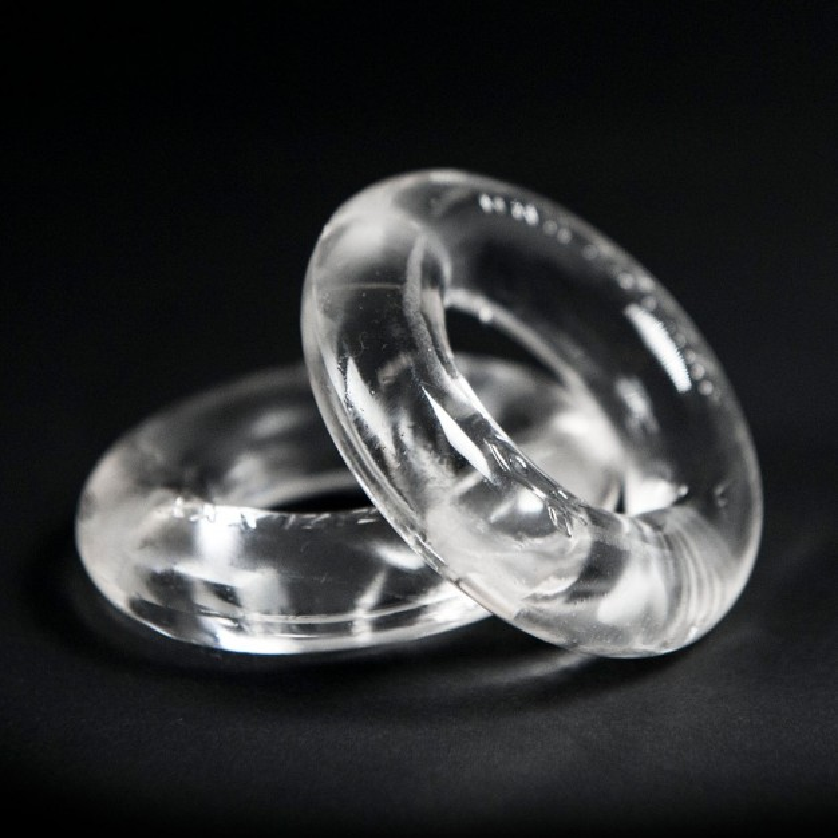 Zizi Top Cock Rings 2 pcs Clear