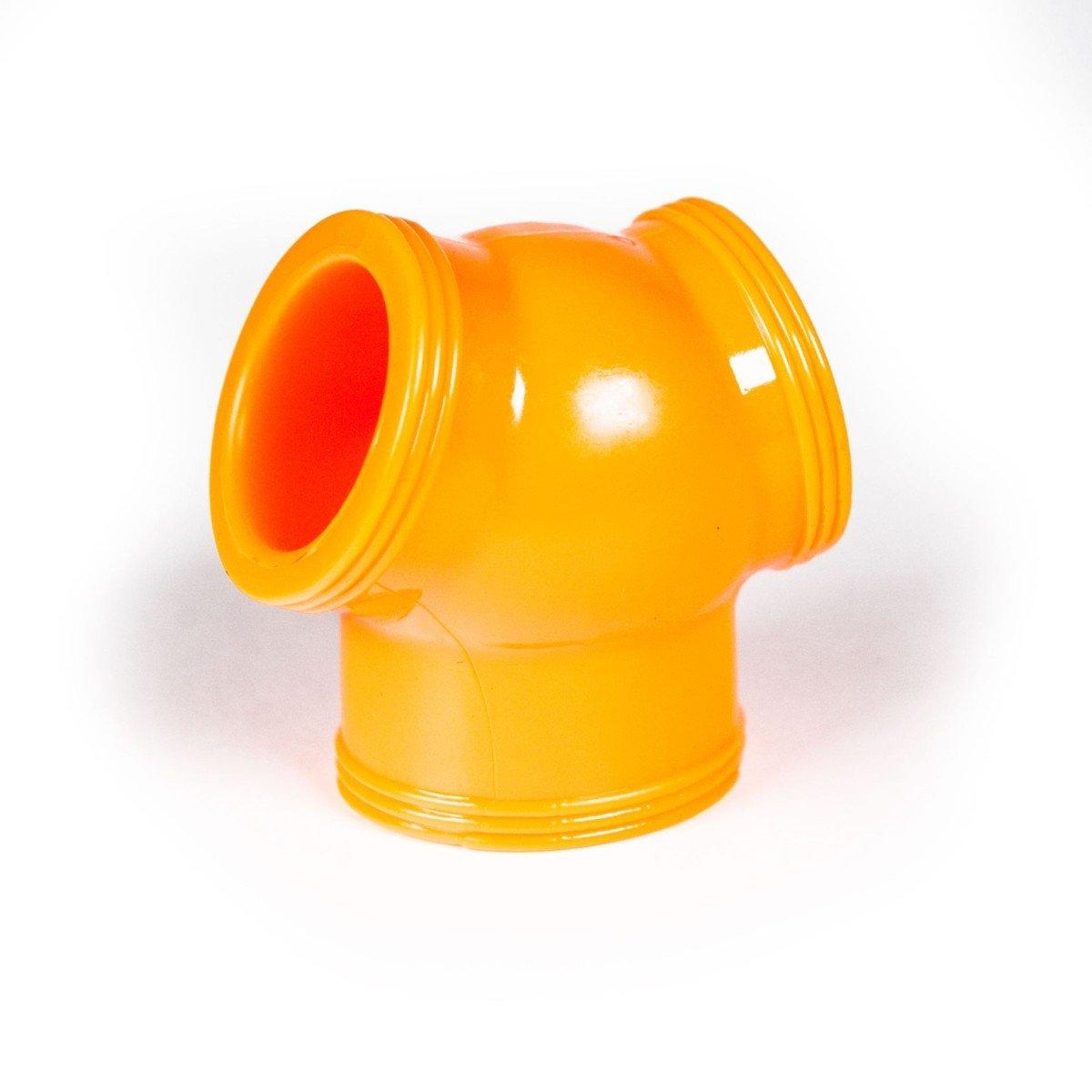 Zizi Megamen Cocksling Cock Ring & Ball Stretcher Fluo Orange