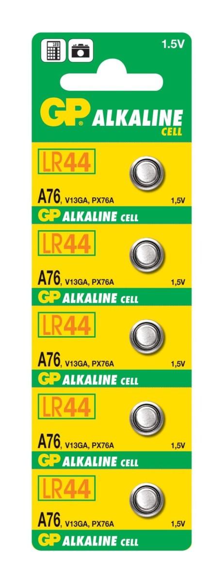 GP A76 LR44 1.5 V Battery (1 pc)