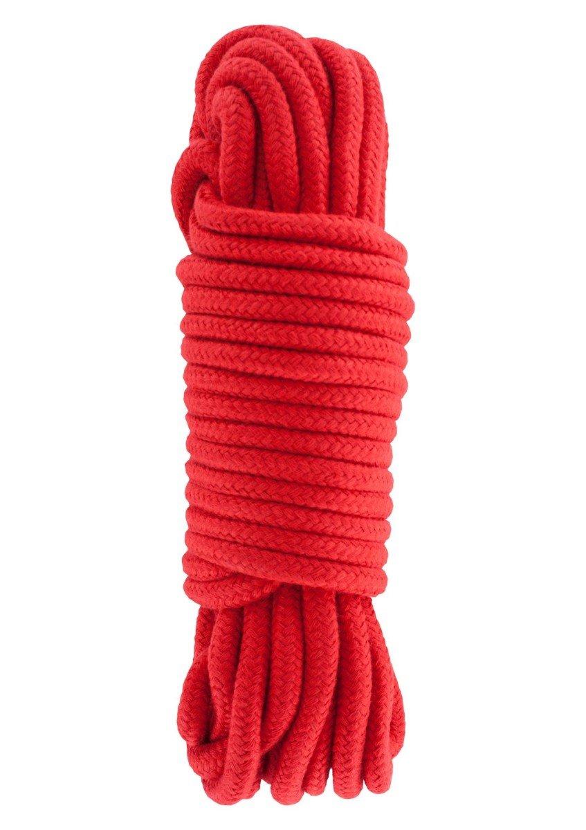 Hidden Desire Bondage Rope 10 m Red
