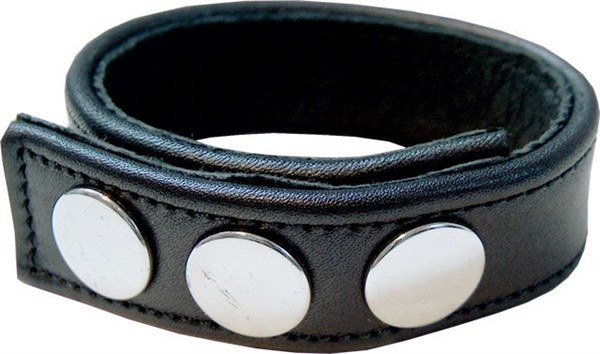 Mister B Leather Cock Strap Plain