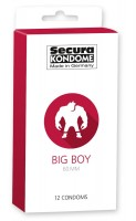 Secura Big Boy Condoms 12 Pack