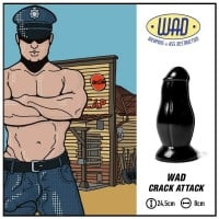 Mister B WAD34 Crack Attack Butt Plug