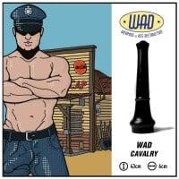 Anální dildo Mister B WAD39 Cavalry