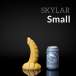 Weredog Skylar Dragon Dildo Jet Small