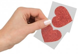 Cottelli Collection Nipple Stickers Heart