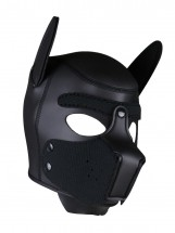 Neoprene Puppy Hood Black