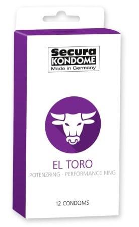 Kondomy Secura El Toro 12 ks
