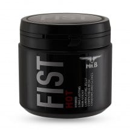 Lubrikační gel Mister B Fist Hot 500 ml