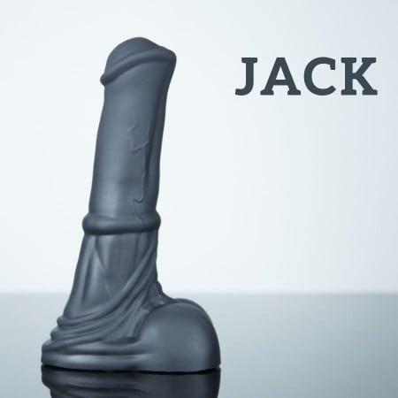 Konské dildo Weredog Jack Jet stredné